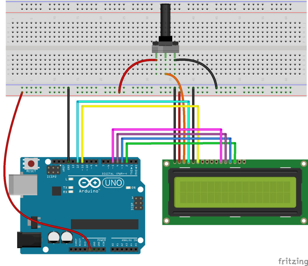 How To Set Up An Lcd With Arduino on wiring 8 pin keypad