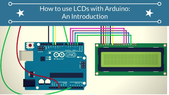 How to use LCDs with Arduino: An Introduction