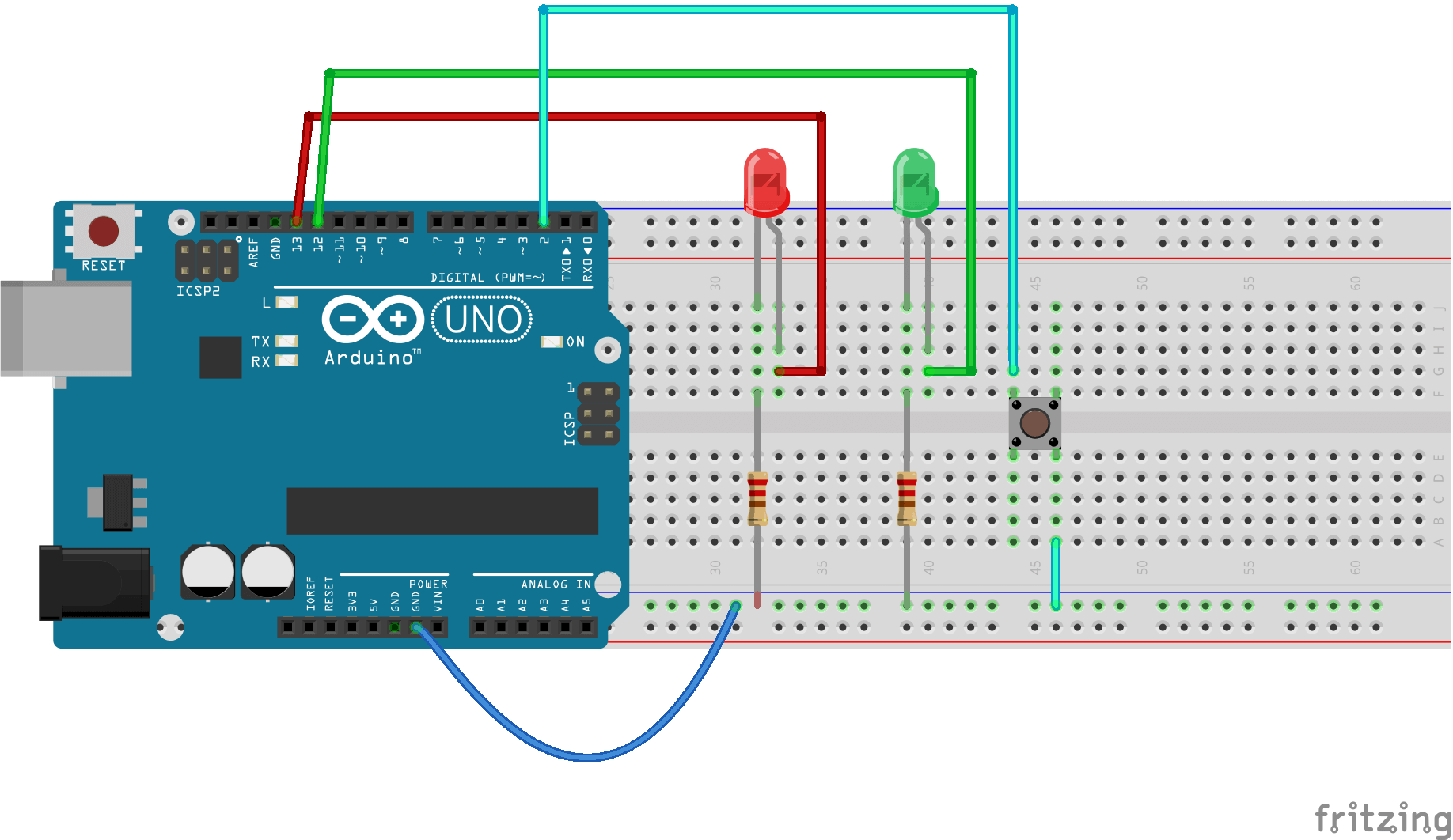 Make One Button Functionality Two Arduino moreover Series Parallel Wiring Diagram 12v in addition Diy Cuphead Costume Using Dollar Store Supplies in addition Rgb Led Strip Lighting Wiring Schematic moreover Low Cost Led Blinker. on christmas circuit arduino