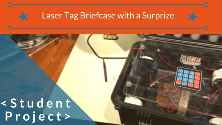 Laser tag and arduino student project programming
