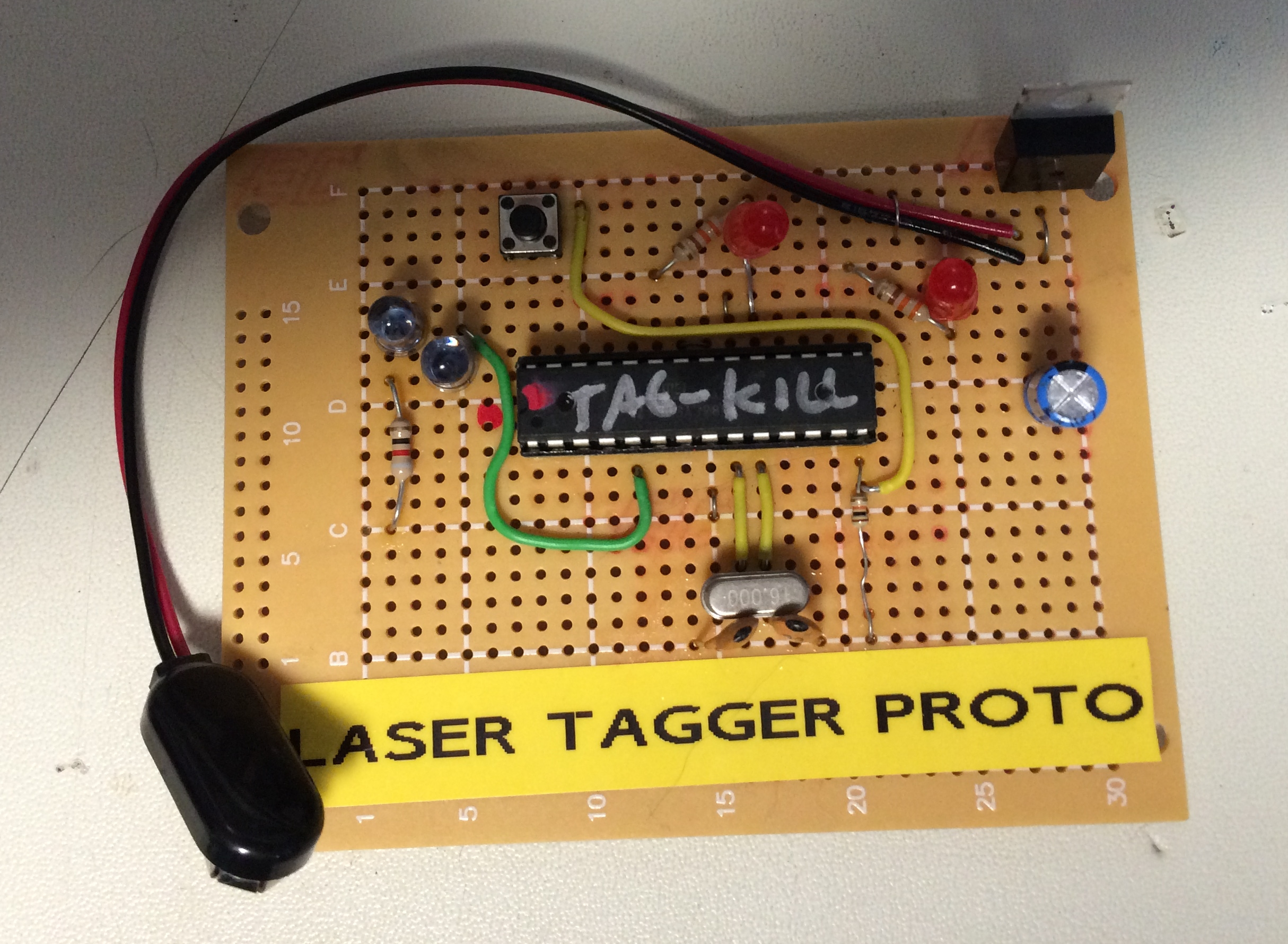 Arduino laser tag project rejects programming