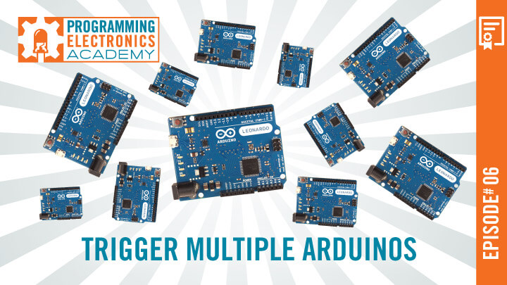 Using the Same Input to Trigger Multiple Arduinos