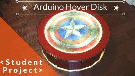 Student Arduino Project: Hover Disk