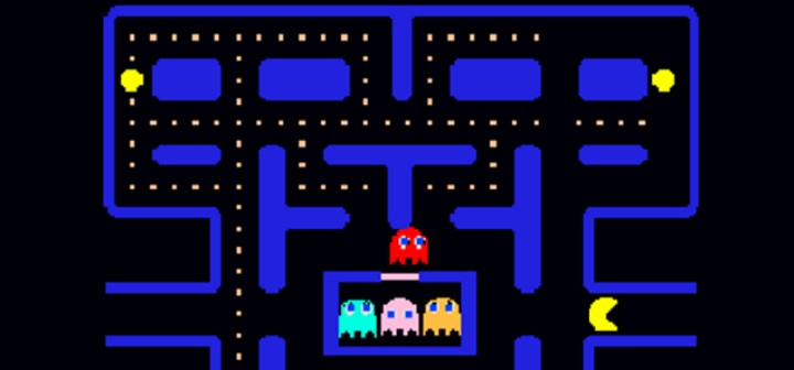 This is a picture of Pac-Man to illustrate rollover.