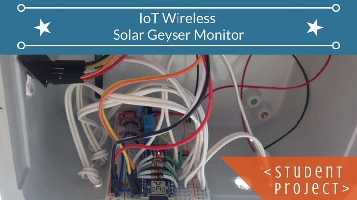 IoT Wireless Monitoring with the ESP8266 and ThingSpeak :: Student Project