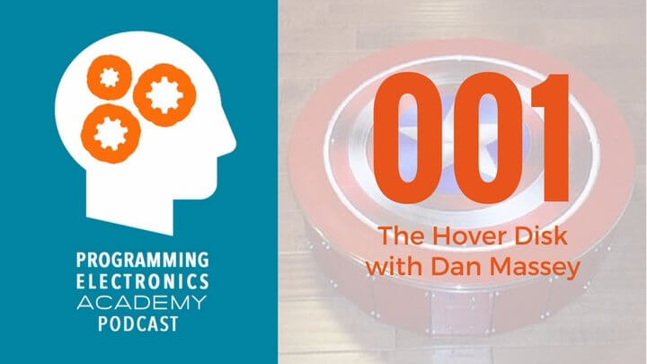 Episode 001: The Hover Disk with Dan Massey