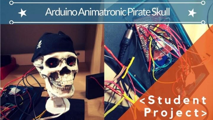 Arduino Animatronic Pirate Skull :: Student Project